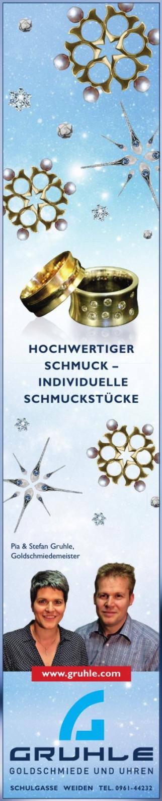 Gruhle - Goldschmiede und Uhren