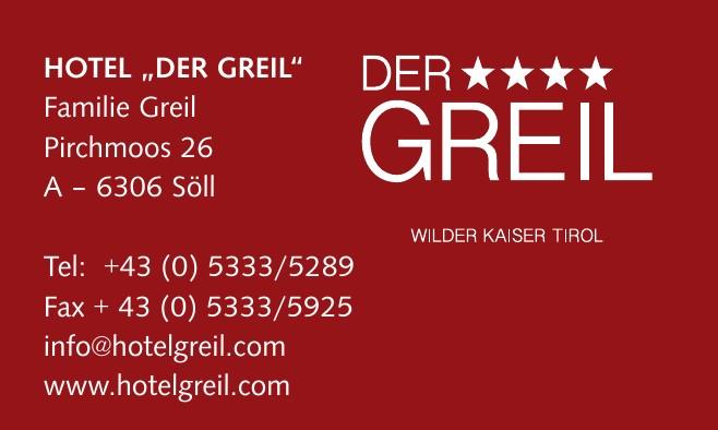 """Hotel """"Der Greil"""""""