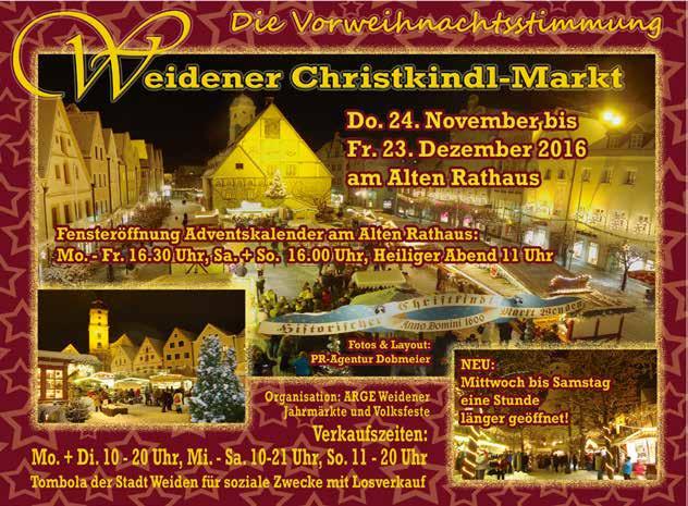 Weidener Christkindl-Markt