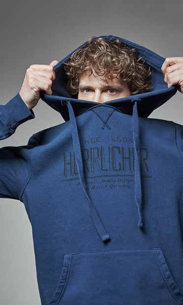 Hey Mann, damit brauchst du dich nicht zu verstecken: Sweatshirt mit Kapuze von Herrlicher
