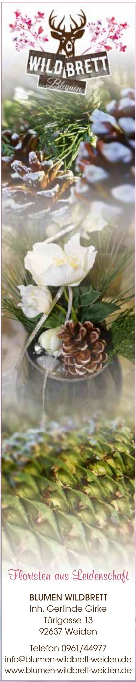 Blumen Wildbrett - Inh. Gerlinde Girke