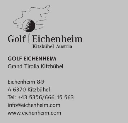 Golf Eichenheim Kitzbühel Austria